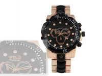 Free shipping 2014 hot sale business brand  MEN Golden stainless steel luxury watch, Big dial quartz calendar watch good gift