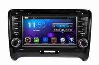 Pure android 4.2.2 Car DVD GPS for Audi TT with Capacitive screen 1.6G CPU Dual Core 1G RAM Radio Tape Recorder Stereo