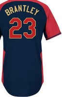 Free shipping-2014 All Star #23 Michael Brantley jersey,Indians game jerseys