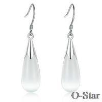 Explosion opal series waterdrop shape drop earring manufacturers selling free postage