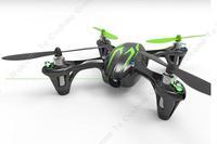 Free shipping!Drone Hubsan X4 H107C PRO W/ HD 2 Mega Pixels Camera RC FPV Quadcopter RTF Controller