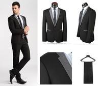 2014 Free shipping blazer men newest design slim-fit business suit clothing suit male suit for men terno masculino mens suit
