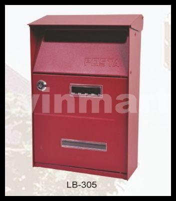 European mailbox mail box antique ancient way cast aluminium waterproof villa outdoor 3 colors(China (Mainland))