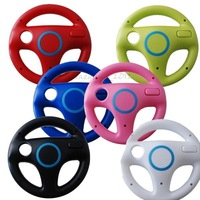 Steering Wheel Mario Kart Racing Games Remote Controller For Nintendo Wii 6color