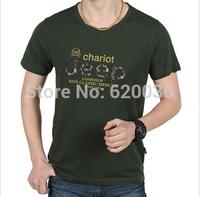Hot-sale!Free Shipping!New Arrival 2014 Summer New Short Sleeve T-shirt Fashion Casual O-neck T-shirt male T-shirt,Men's T-shirt