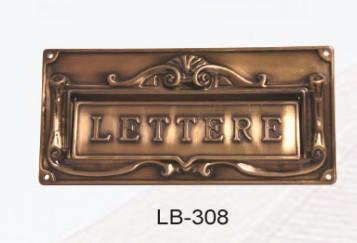 European mailbox mail box antique ancient way cast aluminium waterproof villa in door(China (Mainland))