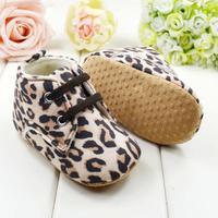 New baby girl shoes prewalkers First Walkers newborn infant footwear leopard print leopard print sneaker women sapatos R1454