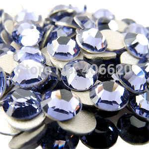 Free shipping~! ss3 (1.3~1.5)mm tanzanite Colors Flat Back Crystal Stones/Nail Art Non Hotfix Rhinestones(China (Mainland))