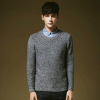 2014 Hot sale Men's Slim Fit Pullover Sweater Casual Fashion High Quality Autumn Winter Wear Free Shipping MZL235