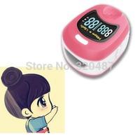 Children Color OLED Fingertip digital Pulse Oximeter SpO2 and pulse rate monitor Blood Oxygen SpO2 saturation oximetro