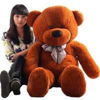 2014 Hot Large plush toys teddy bear stuffed toys plush bear dolls plush birthday gift for girl Christmas gift 100CM TY48