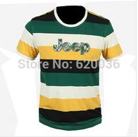 Hot-sale!Free Shipping!New Arrival 2014 Summer New Short Sleeve T-shirt Fashion Casual O-neck T-shirt ,Men's StripesT-shirt 1832