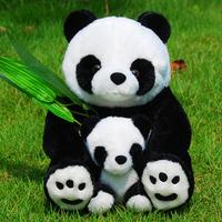 Hot sale panda plush toy stuffed animal toy stuffed panda doll plush animal toys for Christmas gifts TY49