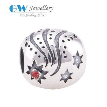 2014 торговый фестиваль марка стерлингового серебра 925 европейский звезда подвески ...