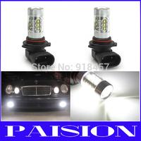 2pcs 12V 24V high power 80W 9006 HB4 Projector Lens LED Fog Light Bulb Car Driving DRL Lamp Xenon White