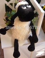 "IN HAND New RETAIL Shaun the Sheep 18"" 45CM BIG STUFFED DOLL TV CARTOON  PLUSH TOY  DOLL very cute free shipping"