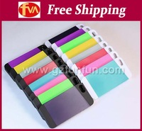 free DHL shipping cost luxury combo case with 2 in 1 designs for iphone 4s/5s case 50pcs/lot many colors available