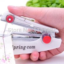 2014 nova Overlock máquinas de Costura Maquina Costura 1 Pcs útil portátil sem fio Mini máquina portátil roupas grátis frete(China (Mainland))