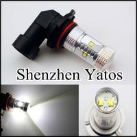 2pcs H8 30W Xenon White LED Driving Cree Fog Light Bulbs Lamp