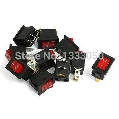 Кулисный переключатель Switch 10 125V/10 250 /6A 3 SPST