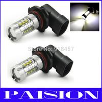 2x 80W High Power Cree 6000K 9006 HB4 LED Bulb Fog Driving Light for Subaru