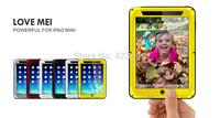 New! Original Love Mei Metal Aluminum Waterproof 4Proof Gorilla Glass Luxury Fashion Case Cover For Apple iPad Mini