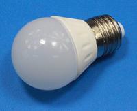 3W 12V E27 LED  Bulb(240lm)  for 12V  solar power system,  DHL freeshipping