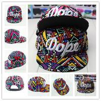 2014 The most popular Geometric Pattern Colorful Fashion Baseball Cap Men & Women Hip Hop Hat