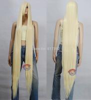 Extra Long Light Golden Blonde Cosplay Wig - 60 inch High Temp - CosplayDNA Wigs