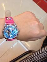 2014 Special Offer Plastic Watches Watches 5pcs Hot Sale! Wholesalme Frozen Sets Cartoon Kids Part Set Watch And Wallet Purse