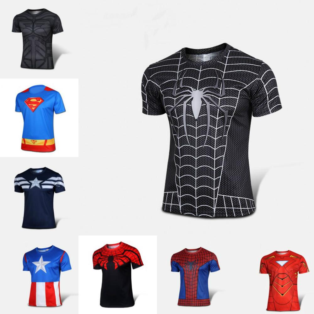 Shirt new design 2015 - High Quality 2015 Marvel Black