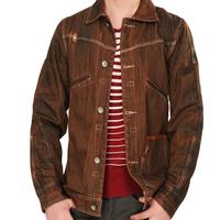 2014 Men's Fashion Design Single Breasted Denim Coat Jeans Overcoat Light Jackets