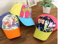 free shipping 0-3 yearsold new design Children cartoon design  baseball cap fashion Children's hat spring summer and autumn