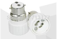 LED B22 to GU10  Base Adapter Holder Converter light lamp base GU10 lamp LED conversion head 50pcs/lot