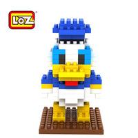 2014 New spot LOZ Diamond Blocks male cartoon character Donald Duck Donald LOZ-9164 Kids Best Gift