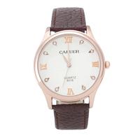 New  8016 CAFUER Brand Men Quartz Business Watch,Men Military Movement Genuine Leather Watch