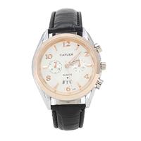 New 224  CAFUER Brand Men Quartz Business Watch,Men Movement Calendar Leather Watch Free shipping