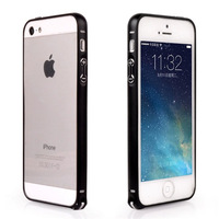 New Metel brushed frame for iPhone5 5s ,Super Light Slim frame cover for iPhone5 5s,0.8mm slime metal frame for iPhone5 5s