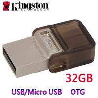 Kingston DTDUO Micro USB OTG Flash Drive Pen Drive OTG External Storage Micro USB Drive Memory Stick For Mobile Phone Tablet PC