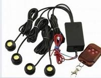 4*1.5W IP68 strobe flash eagle eye light led car reversing light backup light tail stop daytime running light LP13001