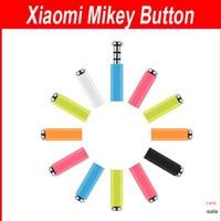 100pcs Xiaomi MiKey mi key quick button dustproof plug Earphone Jack Plug for XIAOMI Mi2s Hongmi MI3 phones in retail package