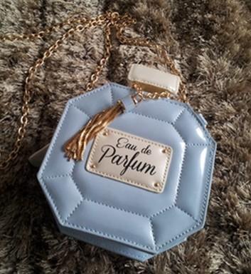 Women handbag women messenger bags famous Luxury Perfume Bottles chain Eau De Parfum PU leather shoulder bags 3 colors Freeship(China (Mainland))