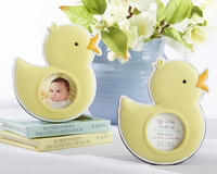 "Free Shipping, 50 sets Wedding Decorations ""My Little Duckling"" Baby Duck Photo Frame Wedding Gifts, On Sale!!!"