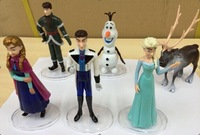 Frozen Figure Toy Princess Elsa and Anna Queen Action Figure Doll Retail Free shipping