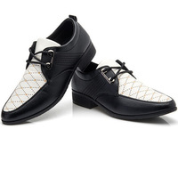2014 New Free Shipping Men's Casual Shoes Men's  Leather Shoes Flats Size:38-42 office man shoes