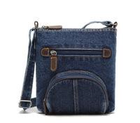 2014 Hot sale fashion retro dark blue denim Solid denim handbag crossbody shoulder bag women messenger bags fasion tote bolsas