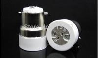 50pcs/lot LED B22 to MR16  Base Adapter Converter light Holder lamp base MR16 lamp LED conversion head Free shipping