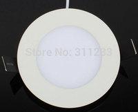 Slim LED Panel Lamp 150mm Cutout 12W Flat Panel Light 1200Lumens 85-265V AC Free Shipping