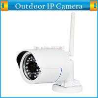 1280*720P 1.0MP Mini Bullet IP Security Network Camera Wireless ONVIF Waterproof Outdoor IR CUT Night Vision P2P Plug and Play