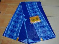 Free shipping Guaranteed dutch wax african super wax hollandais,2014 Good price african fabric 6yard/pcs Item No. DSC07200 blue